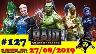 #127. Новое слияние и Вопрос-Ответ | RAID: Shadow Legends  | 27/08/2019