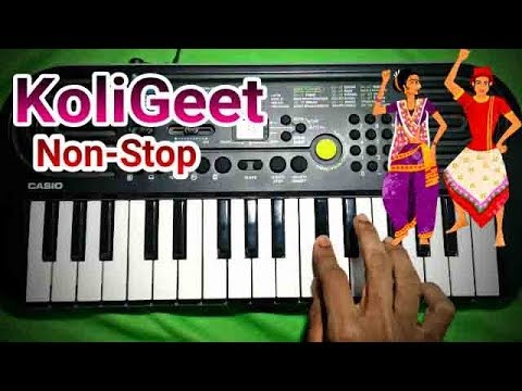Nonstop Koli Songs On Keyboard   Somnath KoliBand   Ash King Piano