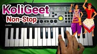 Nonstop Koli Songs 2020 On Keyboard | Somnath KoliBand | Ash King Piano