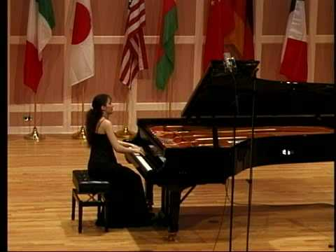 Helene Tysman Competition 2009 Chopin, Preludes Op. 28 PART 4