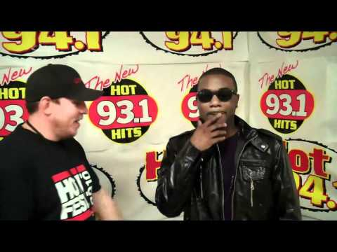 RAYJ AND ROMEO FROM HOT 94.1 TALK ALBUM AND KIM KARDASHIAN BACKSTAGE AT HOT FEST 2010