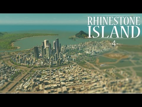 "Cities Skylines - Rhinestone Island [PART 4] ""Downtown Country Club"""