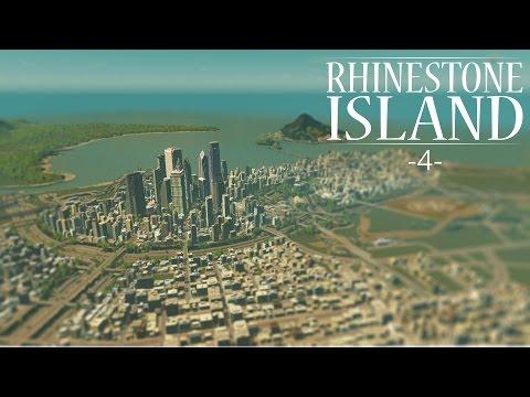 "Cities Skylines - Rhinestone Island [PART 4] ""Downtown Country Club"""