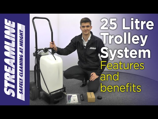 25 Litre Trolley System  - Features and Benefits