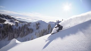 Olympic ski racer raves about early Tahoe ski conditions thumbnail