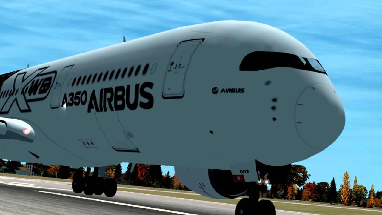 [FSX HD] A350XWB x Beluga