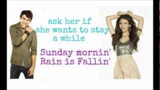 Victoria Justice & Max Schneider - Maroon 5 Medley (Lyric)