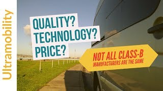 Quality? Technology? Price? Which Class B RV Manufacturer is the Best