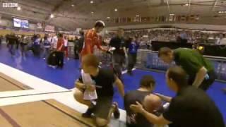 2011 track cycling world cup mens keirin final awang s splinter flv