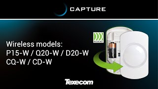 How to install CAPTURE P15-W / Q20-W / D20-W / CQ-W / CD-W (Wireless models)