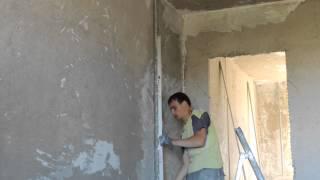 видео Штукатурный маяк (маячковый профиль)