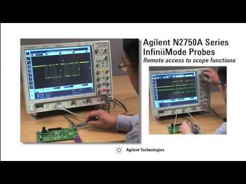 N2750A InfiniiMode Series Active Differential Probes
