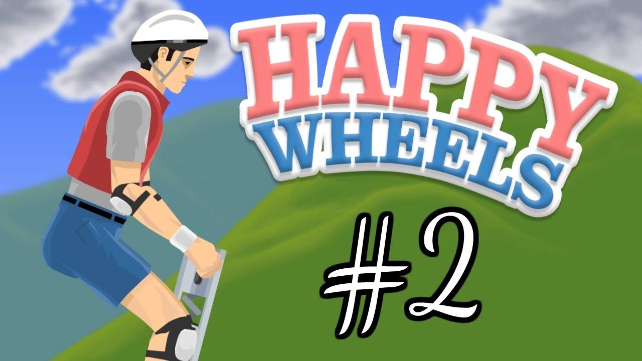 Happy Wheels Part 2 Pogo Pete Youtube