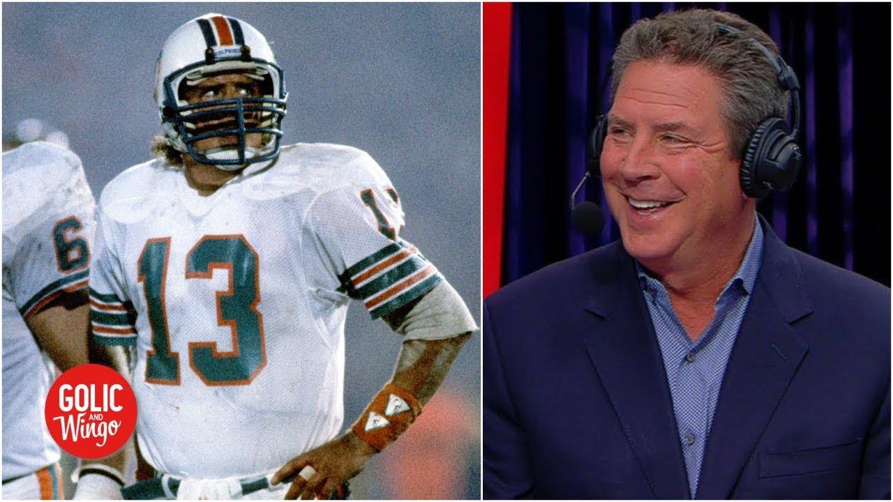 brand new 2bfdb b7c89 Dan Marino shares Super Bowl advice for Rams, praises 'incredible' Brady,  Patriots | Golic & Wingo