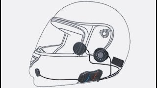 How to install in helmet radio system