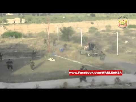 Iraq War 2015 - Iraqi Paramilitary Fights IS In Baiji