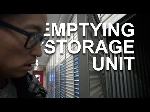EMPTYING THE STORGE UNIT