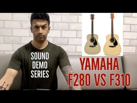 Yamaha F280 vs. Yamaha F310 Guitar - Sound Demo (All Playing, No talking)