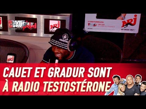 Cauet et Gradur sont à radio testostérone - C'Cauet sur NRJ