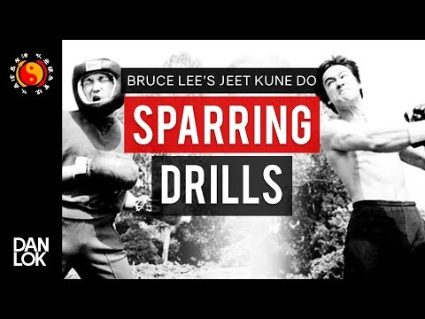 Bruce Lee's Jeet Kune Do Sparring Drills