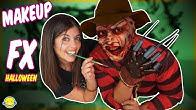 🎃 Maquillaje Special FX Casero Halloween!! Freddy Krueger Easy SFX Make Up Tutorial