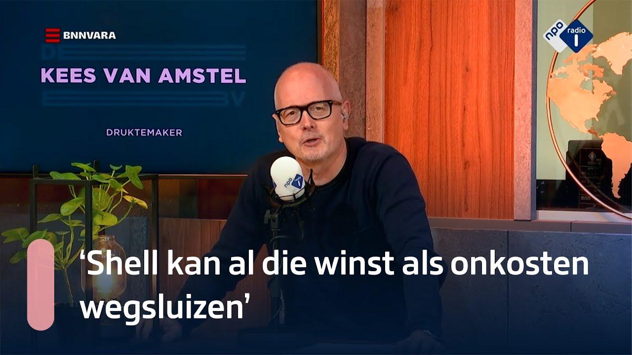 Kees van Amstel over de benzineprijzen   NPO Radio 1