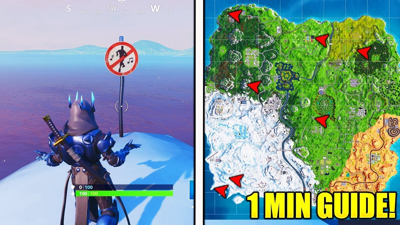 fortnite forbidden locations map