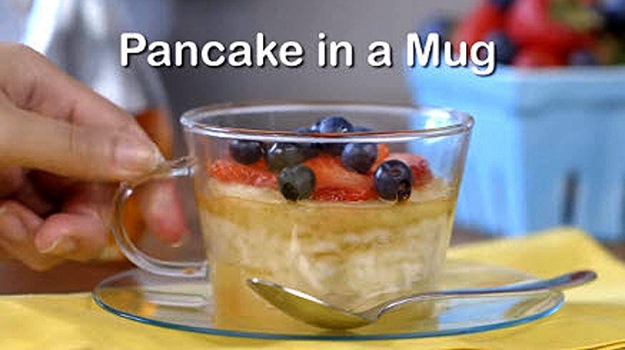 Pancake In A Mug You