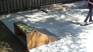 Quarterpipe Session