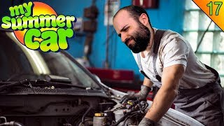 VAMOS A REPARAR EL MOTOR! | MY SUMMER CAR Gameplay Español