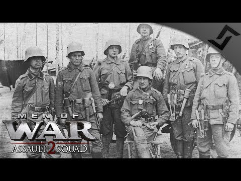 Austrian-Hungarian Infantry Charge 1914 - WW1 Mod - Men of War: Assault Squad 2 Multiplayer Gameplay