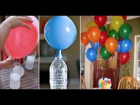 Mira el truco que usan los japoneses para inflar globos - Helio para inflar globos barato ...