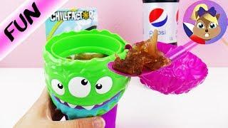 SLUSHY MAKER MONSTER s COLOU - Jak si uděláte sami zmrzlinu | FROZEN BRAIN ICESLUSHY