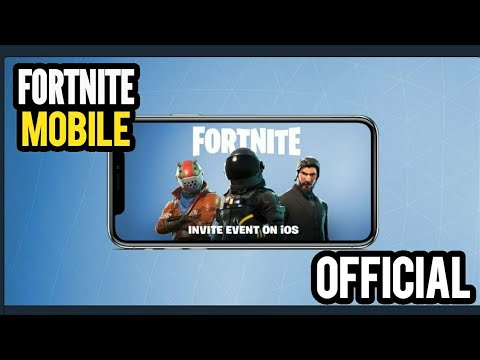 Fortnite Mobile Official Announcement Pre Register