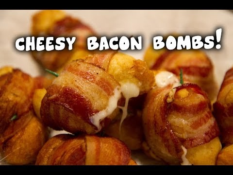 Cheesy Bacon Bombs!