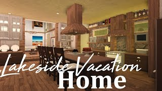 Roblox Bloxburg || Lakeside Vacation Home PART 2 (456k)