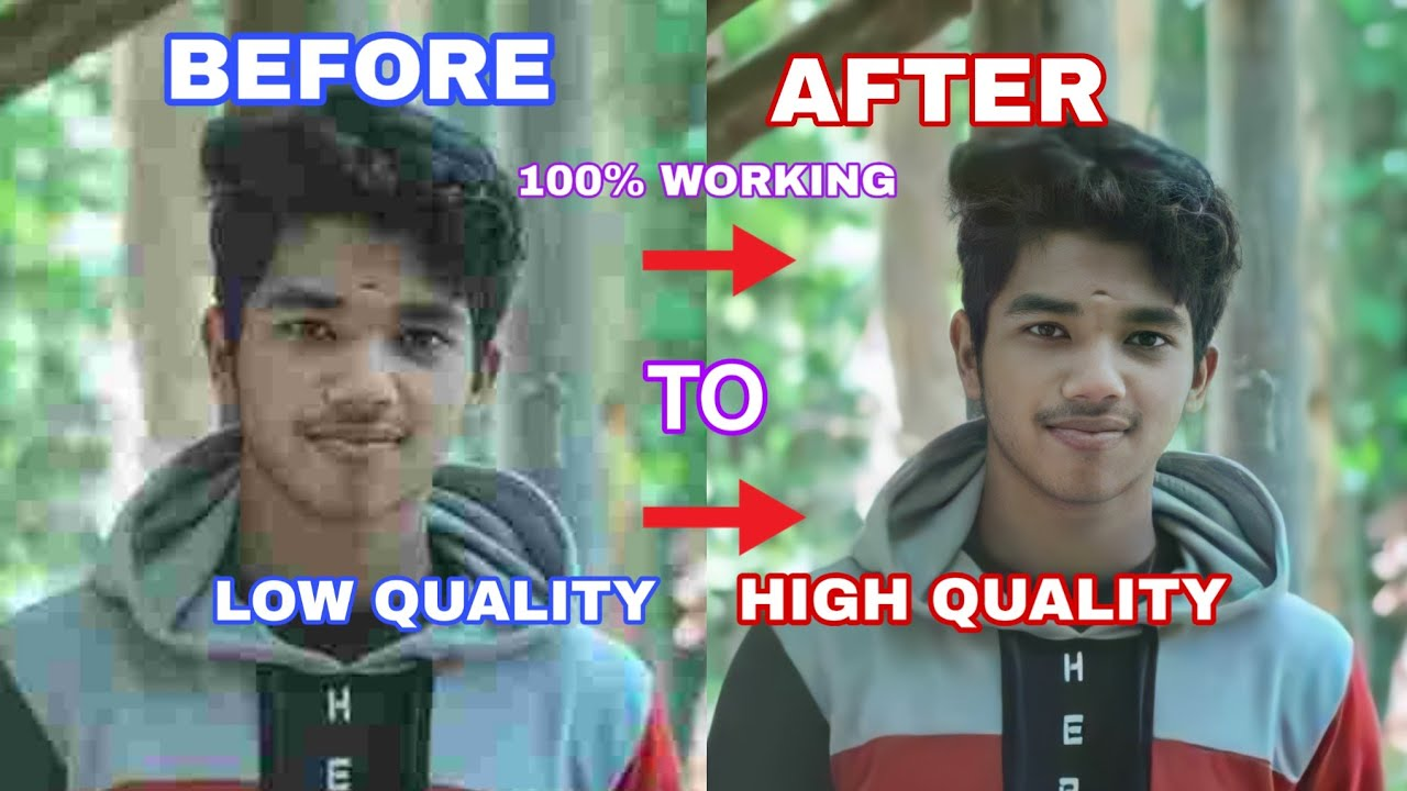 How to low QUALITY  images convert to HD or  High quality || #REMINI  || 100% Working💯