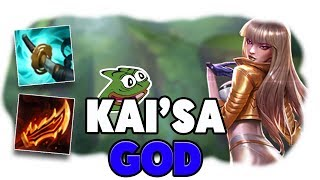C9 Sneaky | THE KAI'SA GOD