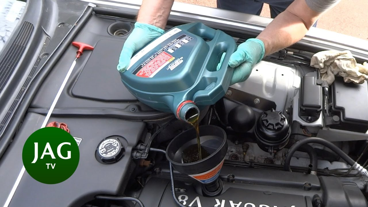 Jaguar Xj8 Engine Oil And Filter Change
