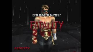 Mortal Kombat Deception - All  fatalities on Johnny Cage NPC