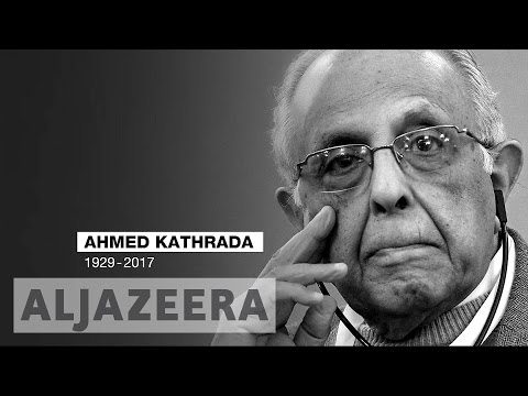 South Africa's anti-apartheid icon Ahmed Kathrada dies