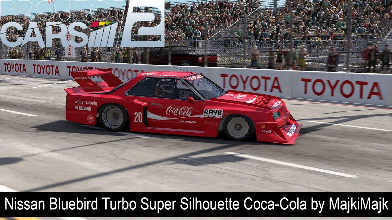 Project Cars 2 Nissan Bluebird Turbo Super Silhouette Coca Cola