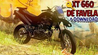 GTA SA -  DOWNLOAD DA MINHA XT 660 DE FAVELA | DS GAMEPLAYS