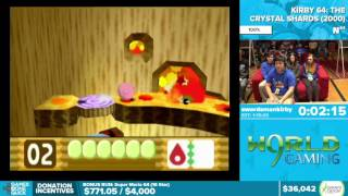 Kirby 64: The Crystal Shards by swordsmankirby in 1:12:18 - Awesome Games Done Quick 2016 - Part 6