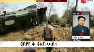 Naxal attack at Kistaram in Sukma district of Chhattisgarh; 8 CRPF personnel martyred