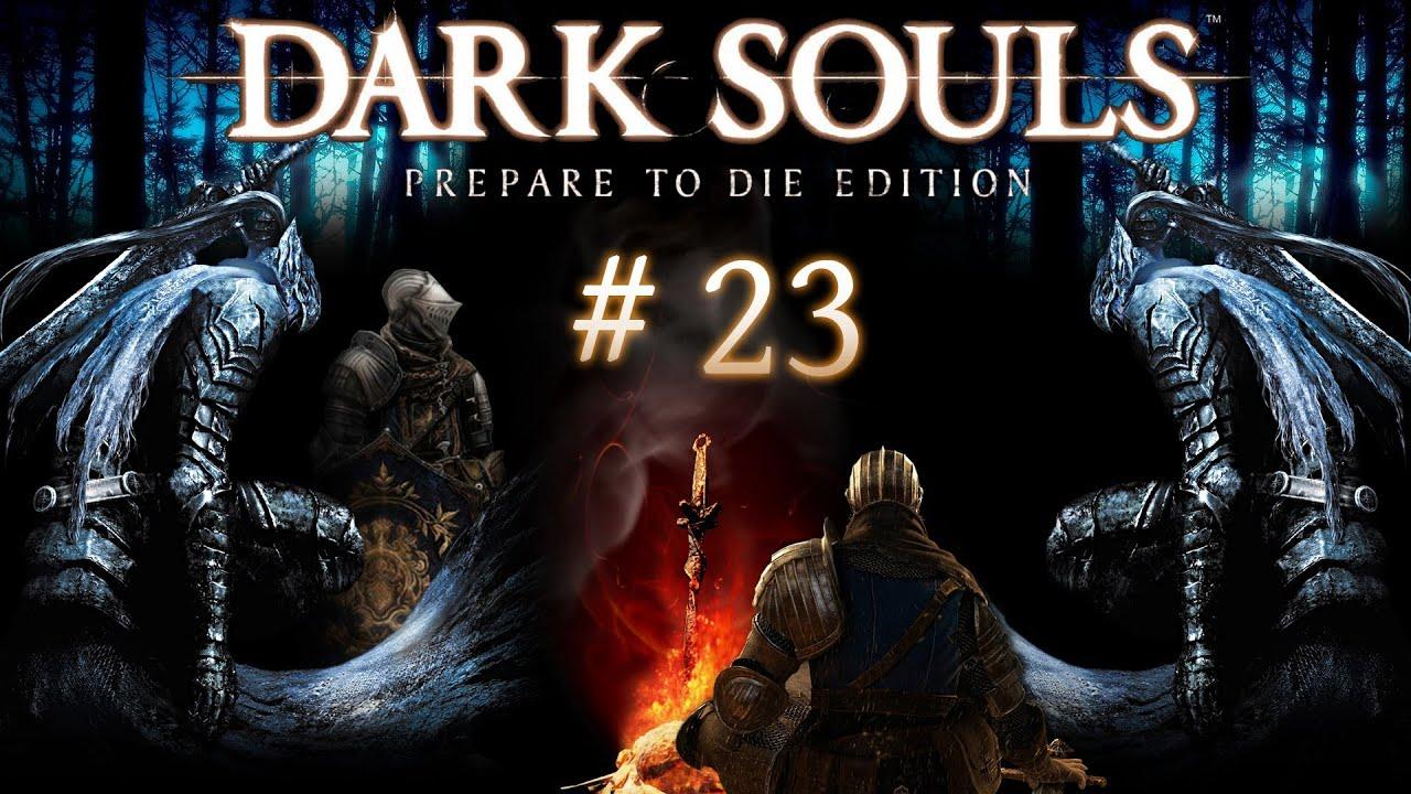 Lets Play Dark Souls 23 Deutschgerman Sif Der Wolf Und Die Hydra