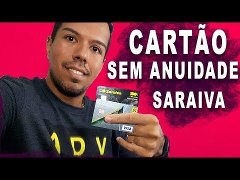 SARAIVA - CARTÃO DE CREDITO SEM ANUIDADE E TARIFAS!