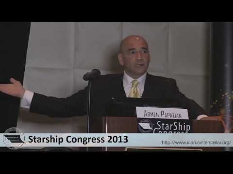Money Mechanics for Space, Dr. Armen Papazian, 2013, Dallas, USA