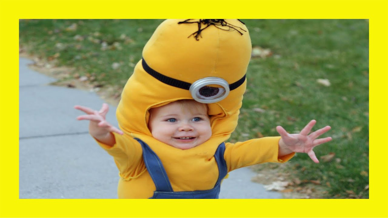 YouTube Premium  sc 1 st  YouTube & Little Minion Boy Iu0027m Okay! - Best Halloween Costume Ever! - YouTube