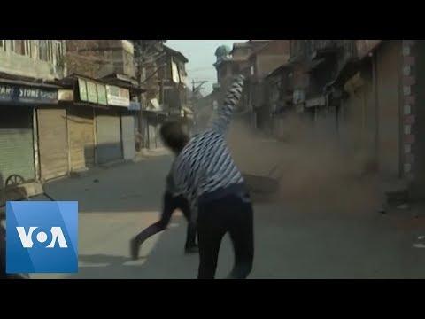 Clashes Erupt in Kashmir